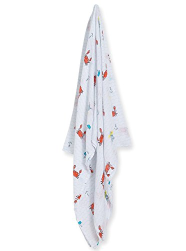 Angel Dear Bamboo Swaddling Blankets-Crabby