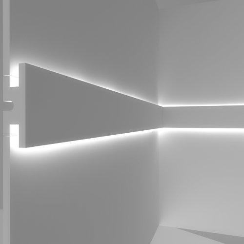 Cadre pour éclairage indirect lED double à mural–el302(1,15m)