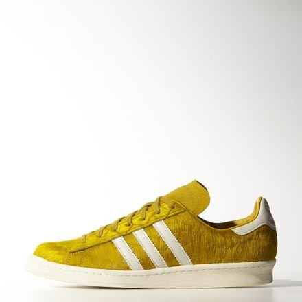 adidas Originals Campus 80S Schuhe Turnschuhe Sneakers Trainers Gelb