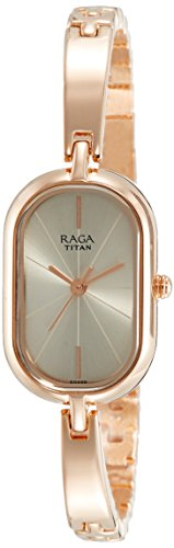 Titan Raga Viva Analog Rose Gold Dial Women's Watch-2577WM01