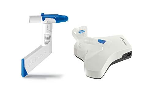 RC-Cornet PLUS NASAL Starter SET, inklusive belAir Inhalationsgerät zur Anwendung bei chronischer Schleimbildung im Nasen-Rachenraum und zur effektiven Behandlung der oberen Atemwege