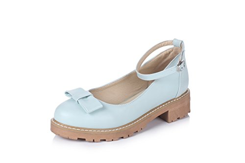 Balamasa - Chaussures Plateforme Bleues Femme