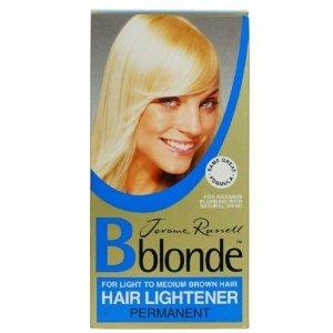 jrme russell b blonde permanent light claircissant cheveux pour cheveux bruns moyen - Eclaircissant Cheveux Colors