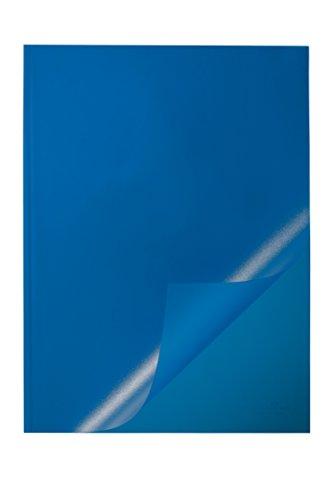 Preisvergleich Produktbild Durable 291906 Klemmschienenhülle, für circa 1-100 Blatt, blau, Packung à 50 Stück