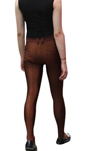 LinvMe -  Pantaloni  - Uomo Marrone