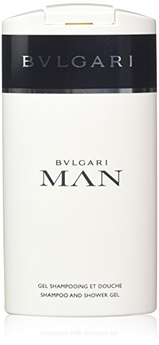 Bvlgari Man Hommen/Men, Shampoo and Shower Gel, 1er Pack (1 x 200 g)