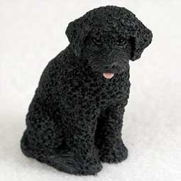 Portuguese Water Dog Miniature Figurine by Conversation Concepts