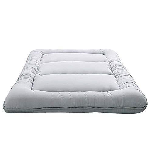 Komfort-futon-matratze (YSA Rollende Futon-Matratzen, Traditionelle Futon-Matratze, Faltbare Roll-Up-Matratze, Faltbare Kissenmatten, Yoga, A, 120x200cm)
