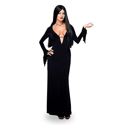 Morticia - Addams Family Kostüm, (Kleid Addams Morticia)