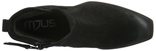 Mjus - 662207-0401-6002, Stivali bassi con imbottitura leggera Donna Nero (Nero (Nero))