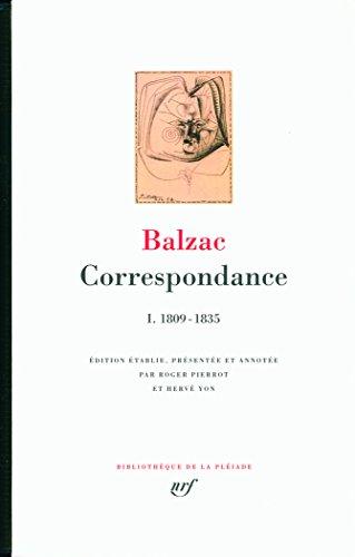 Correspondance (Tome 1-1809-1835)