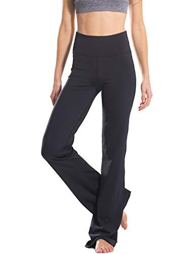 Safort Regular/Tall Bootcut Yoga Hose mit 71cm/76cm/81cm/86cm Schrittlänge, 2 Hosentaschen,Lange Bootleg-Hose, Flare-Hose, XXL