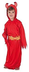Creaciones Llopis Disfraz Infantil Diablo Rojo T-S (3 A 6 AÑOS), Multicolor (80041