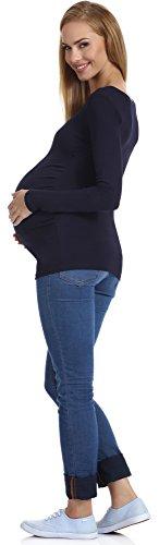 Be Mammy Maternité Sweat-shirt Femme 29 Navy