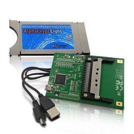 AlphaCrypt Light CI Modul Version R2.2 + HMP USB-CI Programmer f. Alphacrypt Module ( Bundle ) -