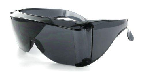 Elements of Style Cover-Ups Sonnenbrille, für Brillenträger, Schwarz