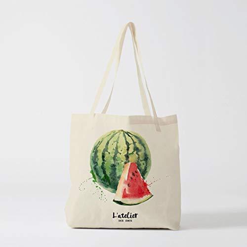 Tragetasche Wassermelone Tasche für Markt Tote Bag Canvas Bag Windeltasche Shopping Food...