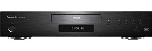 Panasonic dp-ub9000egk, lettore blu-ray hi-end, 4k nativo, usb dlna internetapps, nero