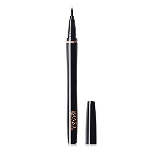 F-blue IMAGIC Tragbare Schwarze Wasserdichte Einheitlich Farbige Schnell Trocknend Kajalstift Keine Schattierung Eyeliner Pen