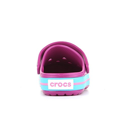 Crocs Band, Sabots mixte enfant Violett (Vibrant Violet)