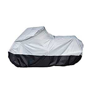 AmazonBasics Motorcycle Cover - Medium(Grey and Black)