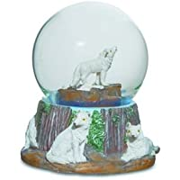 Bola Nieve Lobo blanco 8.5cm