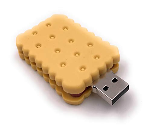 Price comparison product image Onlineworld2013 Biscuit Pastry Nibble Biscuit Chocolate Funny USB Stick 8 GB USB 3.0