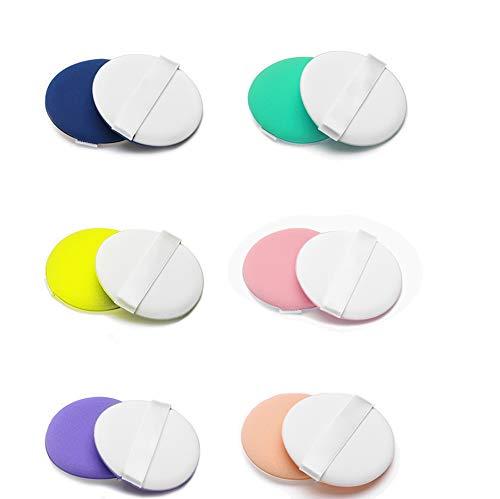 Spugnetta per trucco spugna make up (12 pezzi) fondazione per applicare blush correttore, ombretto, cipria, crema cosmetica blender spugne di trucco, latex free.
