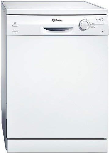 Balay 3VS306BP lavavajilla - Lavavajillas (Independiente, Color blanco, Botones, Giratorio, 52 Db, A, 195 min)