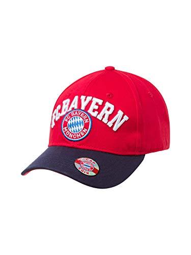 FC Bayern München Baseballcap Fan rot Kids