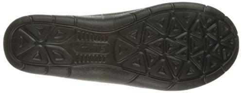 Skechers Lite Step-Helium, Scarpe da Ginnastica Basse Donna Nero (BLK)