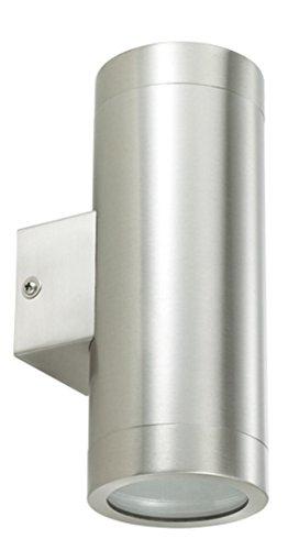 Ledar LED-Wandleuchte - Kulmbach und Buchen 6W, 3000K, alu, Outdoor (Buchen)