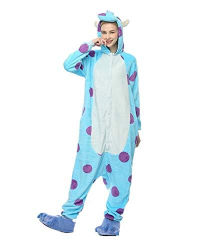 (HLDUYIN Mode Onesie Unisex Erwachsenen Pyjamas Cosplay Tierkostüm Pyjamas Für Erwachsene Und Jugendliche,XL)