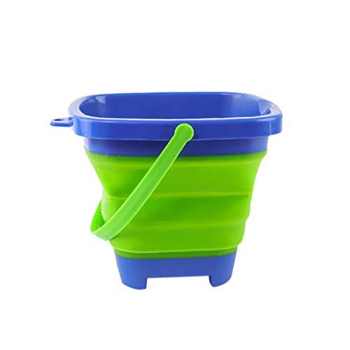Sulifor Strandspielzeug, tragbarer Multifunktionsstrand-Eimer 2.5L-Spielzeug für Kindersommerpartyspiel