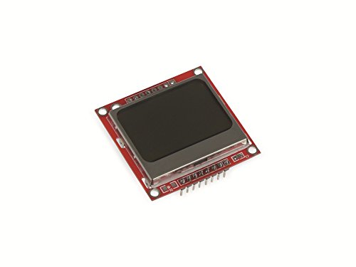 Joy-IT Raspberry Pi® Display-Modul Rot sbc-lcd84x48 Raspberry Pi®, Raspberry Pi® 2 B, Raspberry Pi® 3 B