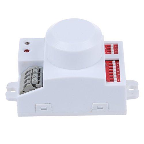 SODIAL(R) Mikrowellen Bewegungs Sensor Schalter Doppler Radar Wireless Modul fuer Beleuchtung 220V -