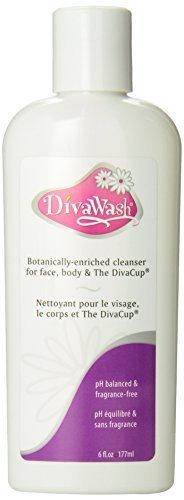 DivaCup DivaWashNatural DivaCup Cleaner -- 6 fl oz by Diva Cup