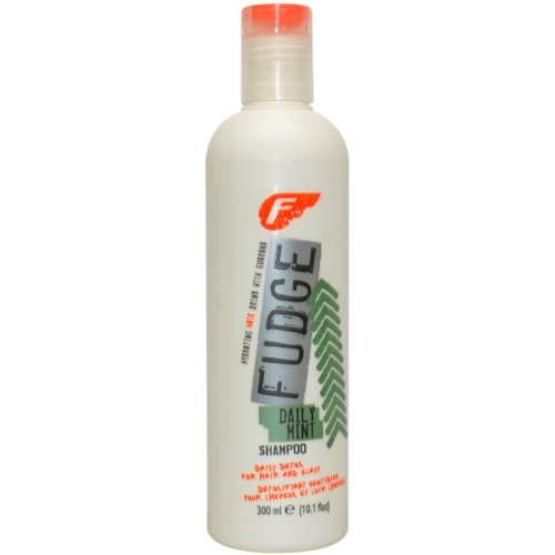 Fudge Daily Mint Shampoo, 1er Pack (1 x 300 ml) - Fudge Daily Mint