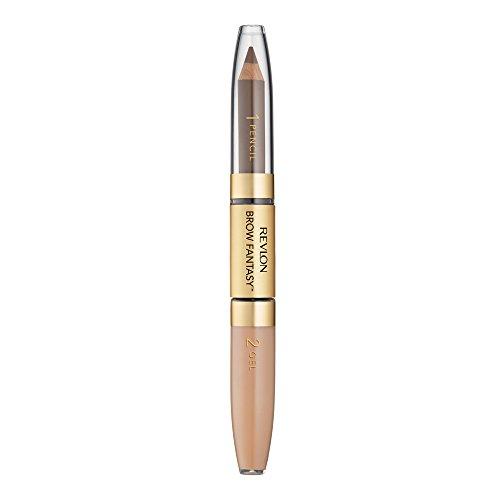 Revlon Brow Fantasy Pencil & Gel Dark Blond 104, 1er Pack (1 x 2 g)