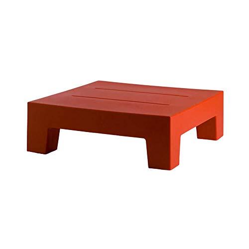 Vondom Jut Table Basse pour l'extérieur Rouge pour Chaise Longue