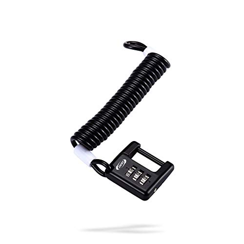BBB Schlösser Fahrradschloss Minisafe BBL-52,schwarz, 3 x 1200mm