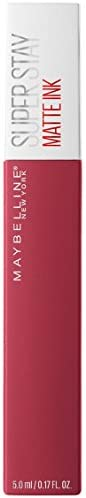 Maybelline New York Superstay Matte Ink Lip Satin Lipstick - Ruler 80