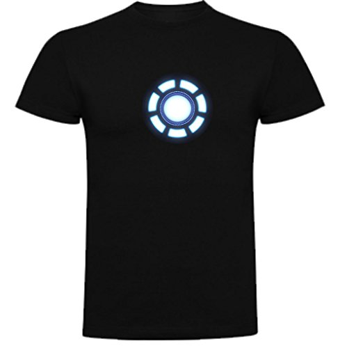 Camiseta de Hombre Iron Man Comic Los Vengadores L
