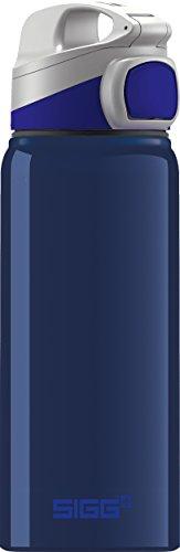 Sigg Miracle Alu Night, Kinder Bpa Frei, Aluminium Trinkflasche, Blau, 0.6 L