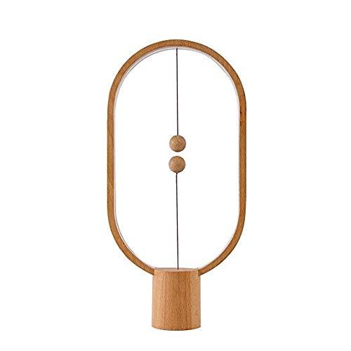 Air Switch 1-tisch-lampe (Balance Lampe - MIKLL LED Tischleuchte Magnetischer Mid-Air-Schalter, Balance Nachttishlampe Augenpflege [USB-betrieben] Dekoration für Schlafzimmer, Wohnzimmer und Büro)