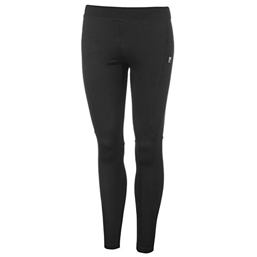 Nevica Meribel Damen Warm Ski Hose Winter Stretch Sport Base Layer Leggings Schwarz 10 (S) (Skihose Base)