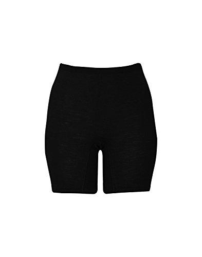 Merino Shorts für Damen Die halblangen Damenshorts aus feinster Merinowolle reichen bis zu den Knien und wärmen daher die Oberschenkel gleich mit. Die Merinowolle fühlt sich auch bei einer Feuchtigkeitsaufnahme von bis zu 33 % noch trocken an. Dadurc...