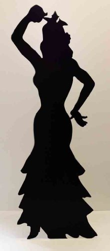 Flamenco Dancer (Silhouette) - Silhouette Lifesize Cardboard Cutout / Standee / Standup by Standee
