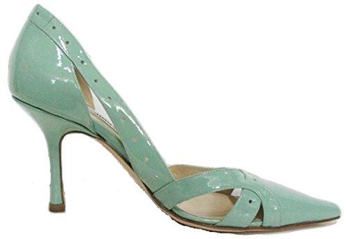 Jimmy Choo - Zapatos de vestir para mujer verde Pale Green 37 (4.5 UK)