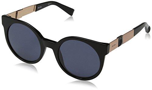 Max mara mm prism viii ir 807 51, occhiali da sole donna, nero (black grey)